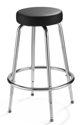Alvin Spacesaver Adjustable Height Stool (SSAS)