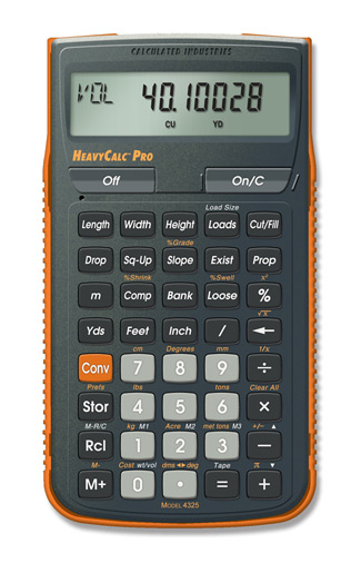 Calculated Industries HeavyCalc Pro  Calculator (4325)