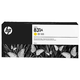 HP 831A Yellow Latex Ink Cartridge (CZ685A)