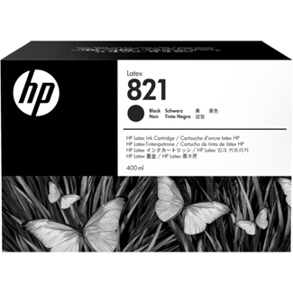 HP 821A 400ML Black Latex Ink Cartridge (G0Y89A)