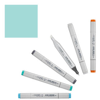 Copic Classic Original Marker Horizon Green (BG34-C)