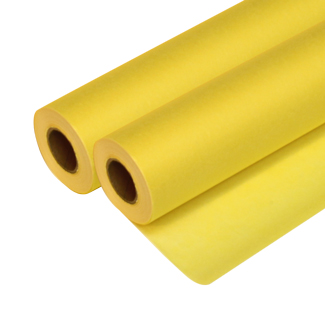 "Seth Cole 7lb 18""x50yds Bright Canary (55C) Sketch Paper Roll 1"" Core"