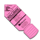 "Rollabels Junior Identification Tags 1.5"" Fluorescent Pink 50/pk (JRPK)"