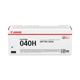 Canon 040H Cyan High Capacity Toner Cartridge (0459C001)