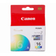 Canon BCI-16 Tri-Color Ink Cartridge 2 Pack (9818A003)