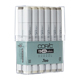 Copic Classic Original 12 Marker Set Warm Gray (CWG12)