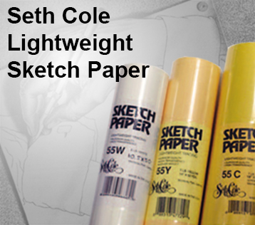 Seth Cole Lightweight Sketch Paper