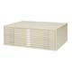 "Safco 10 Drawer Flat File 30""x42"" in Tropic Sand (4986TS)"