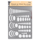 Chartpak Pickett Four in One Ellipse Template (1262I)