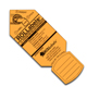 "Rollabels Junior Identification Tags 1.5"" Fluorescent Orange 50/pk (JROR)"