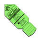 "Rollabels Senior Identification Tags 2.25"" Fluorescent Green 50/pk (SRGN)"