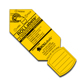 "Rollabels Senior Identification Tags 2.25"" Yellow 50/pk (SRYW)"