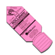 "Rollabels Senior Identification Tags 2.25"" Fluorescent Pink 50/pk (SRPK)"