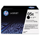 HP 05X High Yield Black LaserJet Toner Cartridge (CE505X)