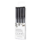 Copic Multiliner Black Broad 4 Pen Set (MLBBROAD)