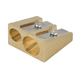 Alvin Brass Wedge Double-Hole Pencil Sharpeners 12/Box (9868)