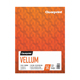 "Clearprint  24lb Design Vellum Pad 9""x12"" 50 Sheets (26321501011)"