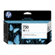 HP 730 Gray 130ml Ink Cartridge (P2V66A)