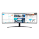 "Samsung 49"" Super Ultra-Wide 3840x1080 Resolution 32:9 Aspect Ratio Curved Monitor (C49J890DKN)"