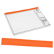 "ARC Blank Edge Binding Strips 24"" Orange 1000/Box (RP03779)"