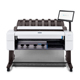 "HP DesignJet T2600DR 36"" PostScript Dual-Roll Multifunction Printer with Scanner (3EK15AB1K)"