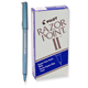 Pilot Razor Point II Super Fine Point Marker Pen 0.2mm Blue 12/Box (11003)