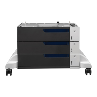HP LaserJet Enterprise 3x 500-Sheet Feeder and Stand (CE725A)